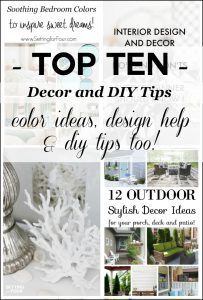 Top Ten Decorating & DIY Tips of 2016