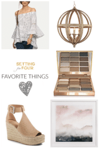 Favourite Things Friday – Decor, Fashion and Beauty