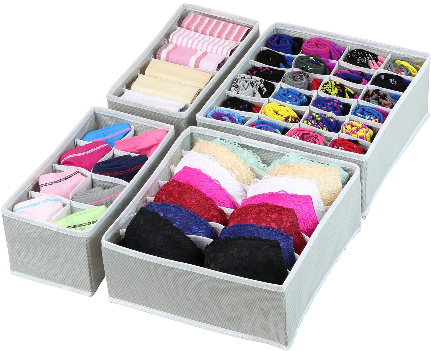 Underwear and sock organizer and 10 brilliant closet organization ideas!