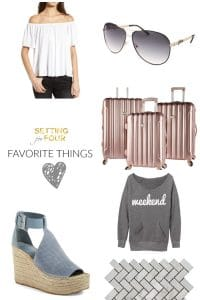 Favorite Things Friday- Home Decorations and Fashion
