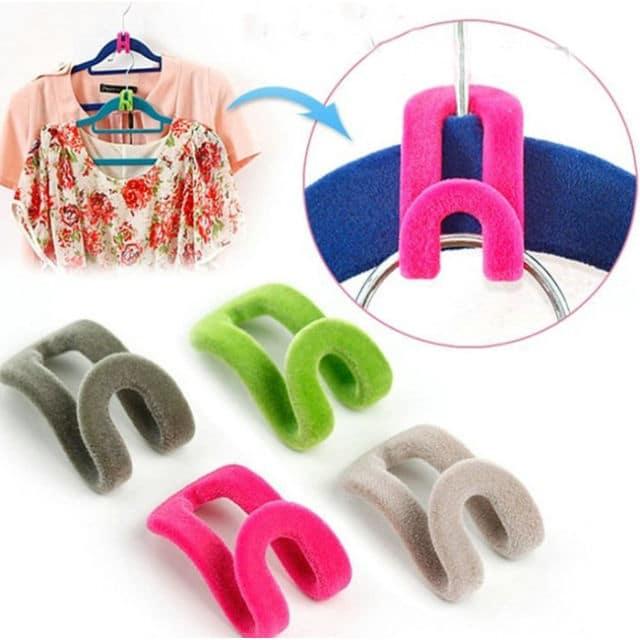 Hanger hooks and 10 brilliant closet organization ideas!