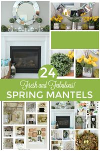 WOW! These 24 Fresh and Fabulous Spring Mantels are just what I need for decor inspiration! I was stuck on how to decorate my Spring mantel this year until I saw these GORGEOUS mantel decorating ideas! I'm so glad I found this!