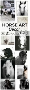 Horse Art Decor - 20 Stunning Looks!