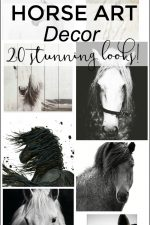 Horse Art Decor – 20 Stunning Looks!