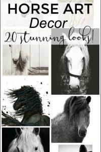 Horse Art Decor – 20 Stunning Looks!