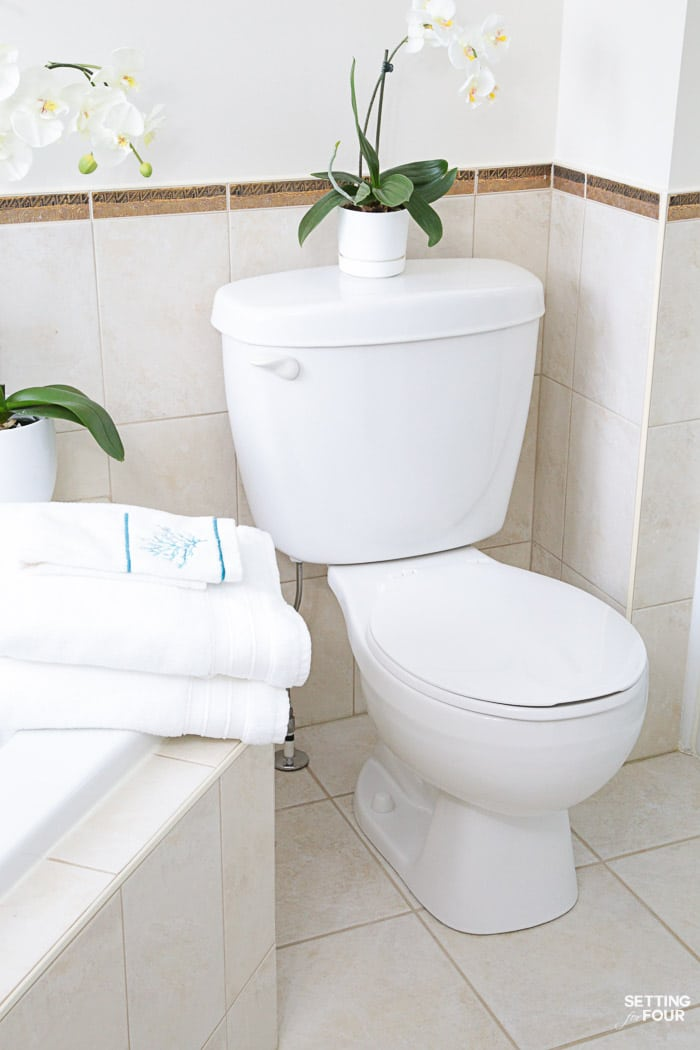 How To Deep Clean Your Bathroom In Steps Setting For Four - How to clean bathroom floor stains