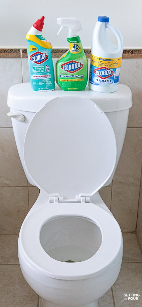 How To Deep Clean Your Bathroom from top to bottom in 5 Steps. Get a thorough clean, remove germs and stains.