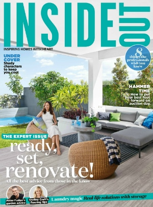 Featured in Inside Out Magazine