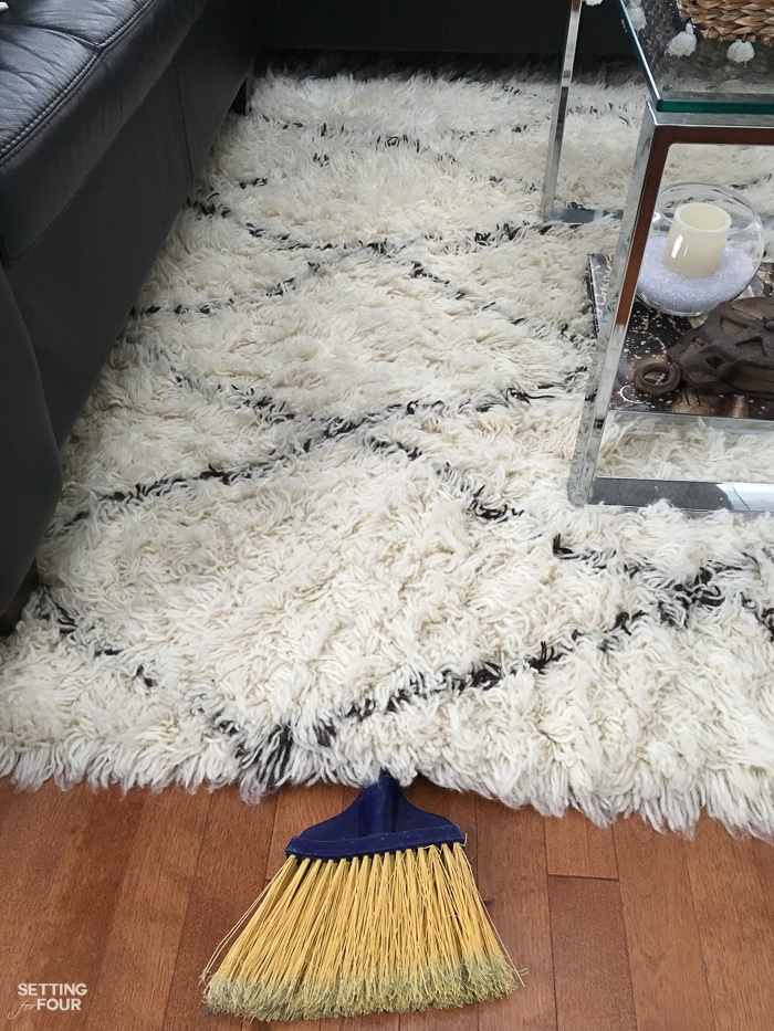 Incredible Wool Carpet Stain Remover & Cleaning Trick. Cleaning hack.