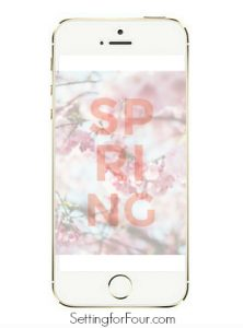 Free Spring Phone Wallpaper and Art Print