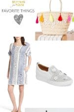 See my market picks and Favorite Things! From decor for the deck and patio, to weekend casual-cool fashion ideas. Plus the dreamiest bike you've ever seen!