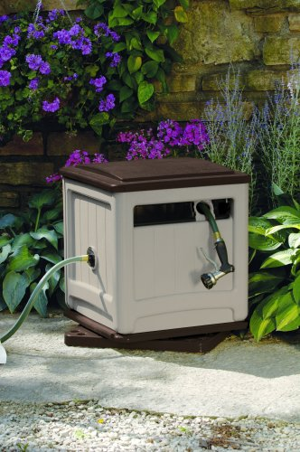 10 Plus Handy and Clever Outdoor Storage Solutions - A hose reel hideaway box is a must!