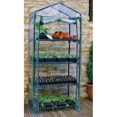 10 Plus Handy and Clever Outdoor Storage Solutions - A portable greenhouse is a must!