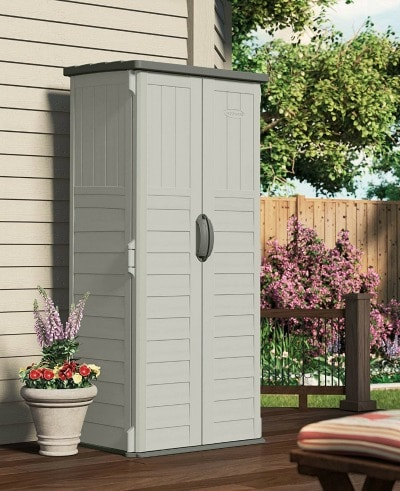 10 Plus Handy and Clever Outdoor Storage Solutions - A vertical tool shed is a must!