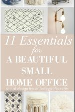 11 Essentials To Create A Beautiful Small Home Office