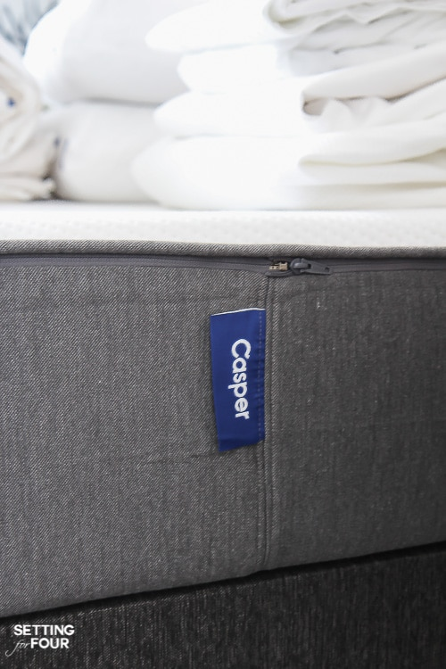 Cozy Bedroom Essentials include a comfortable memory foam mattress with a zippered cover like this one!