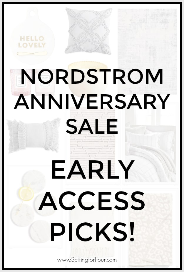 Nordstrom Anniversary Sale Early Access picks - home decor.