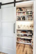 Pantry Design Ideas with Rolling Door