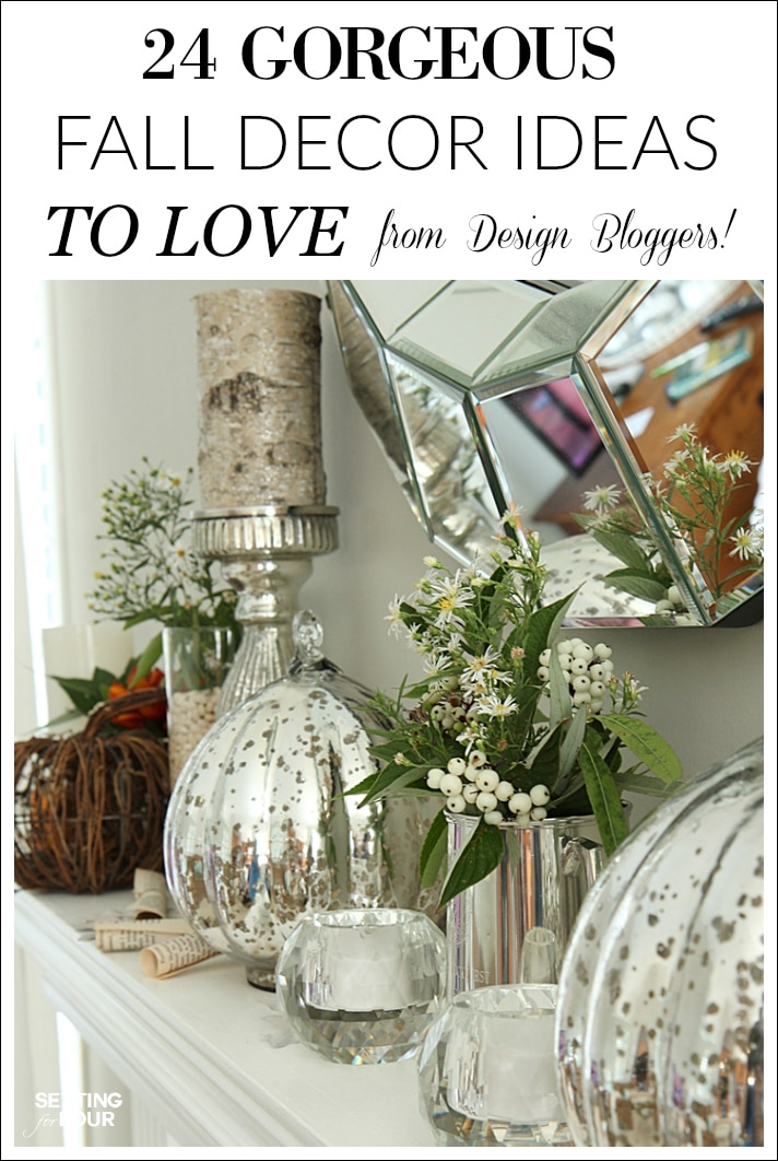 24 Gorgeous Fall Decor Ideas from Design Bloggers