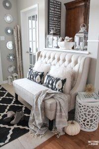 Elegant Fall Entryway Decor Ideas
