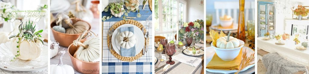 Styled and Set Thanksgiving Entertaining Blog Tour - see 28 creative design bloggers Fall and Thanksgiving decorating ideas!