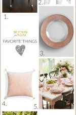 Favorite Things – Fashion and Home Decorations