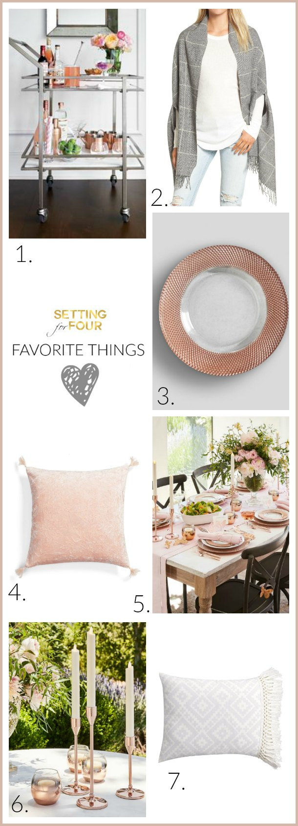 Loving all of these FAVORITE THINGS - latest collection of new market picks that caught my eye! Gorgeous Home Decorations and Fashion ideas to decorate the home and closet!