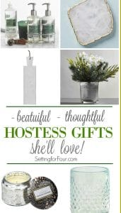 Need to pick up a hostess gift for the holidays to wow the hostess? Check out these 10 Beautiful Hostess Gift Ideas She'll Love! Being a great guest means being thoughtful and appreciative of the invite. Give her a beautiful hostess gift that she'll love - You'll want one for yourself too! These also make great stocking stuffer ideas, so pick up a few for the holidays and stash away to gift later!