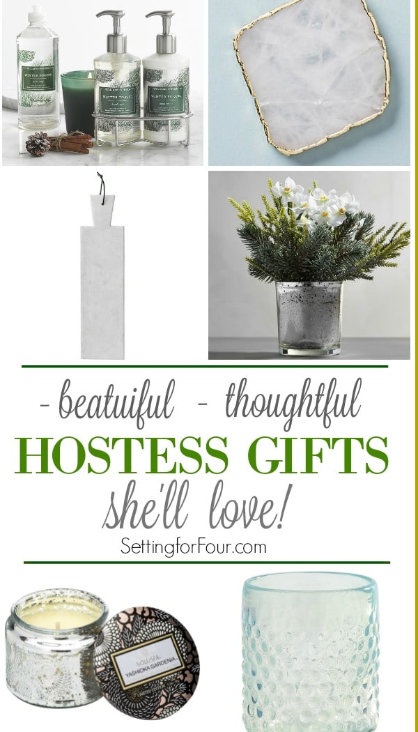 Need to pick up a hostess gift for the holidays to wow the hostess? Check out these 10 Beautiful Hostess Gift Ideas She'll Love!