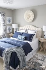 New Bedroom Updates – Juju Hat Wall Decor, Duvet Cover and Lamps
