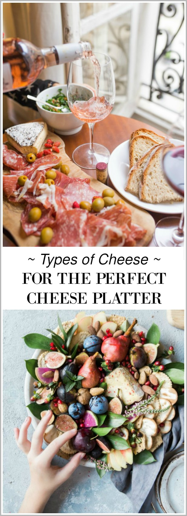 See these no fail tips on picking the types of cheese for the perfect cheese platter & Types of Cheese For The Perfect Cheese Platter - Setting for Four