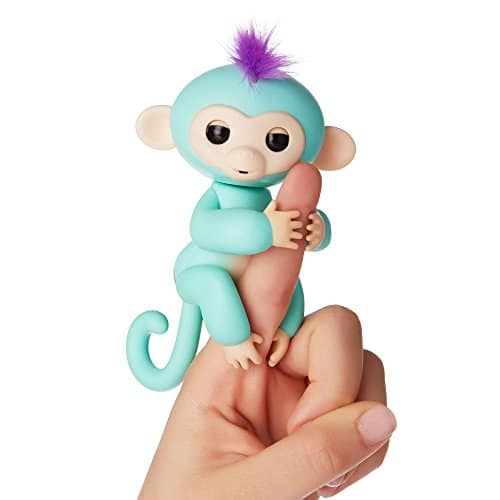 Fingerlings - Interactive Baby Monkey - Zoe - see it and all the BEST TOYS FOR KIDS GIFT GUIDE with 12 top kids gift ideas!