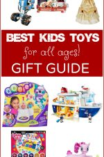 See all the BEST Toys for Kids in this amazing Gift Guide for Kids of all ages! It will make buying your next gift so easy with all the fun choices here! See tech gifts, dolls, Lego, Playmobil, Matchbox and other reputable gifts that fun loving kids will adore!