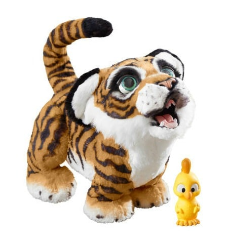 FurReal Roarin' Tiger - see it and all the BEST TOYS FOR KIDS GIFT GUIDE with 12 top kids gift ideas!