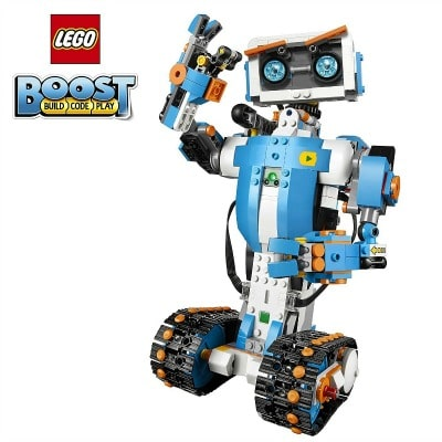 LEGO Boost Creative Toolbox 17101 Building and Coding Kit - see it and all the BEST TOYS FOR KIDS GIFT GUIDE with 12 top kids gift ideas!