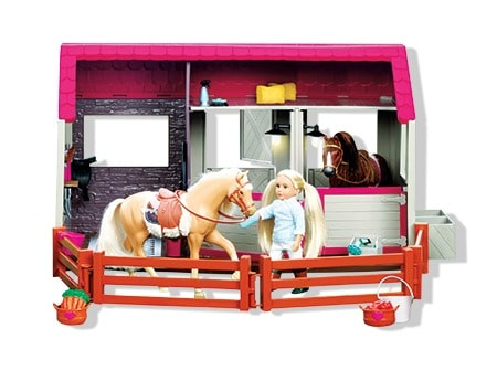 Lori Doll Horse Haven Barn Set - see it and all the BEST TOYS FOR KIDS GIFT GUIDE with 12 top kids gift ideas!
