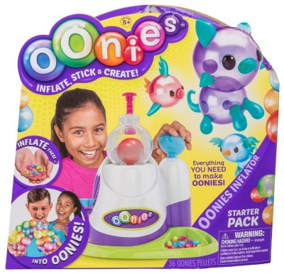 Oonies Starter Kit - see it and all the BEST TOYS FOR KIDS GIFT GUIDE with 12 top kids gift ideas!