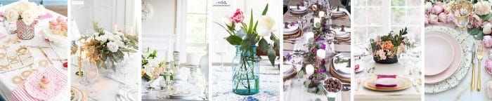 Valentine's Day entertaining and decor ideas for the home.