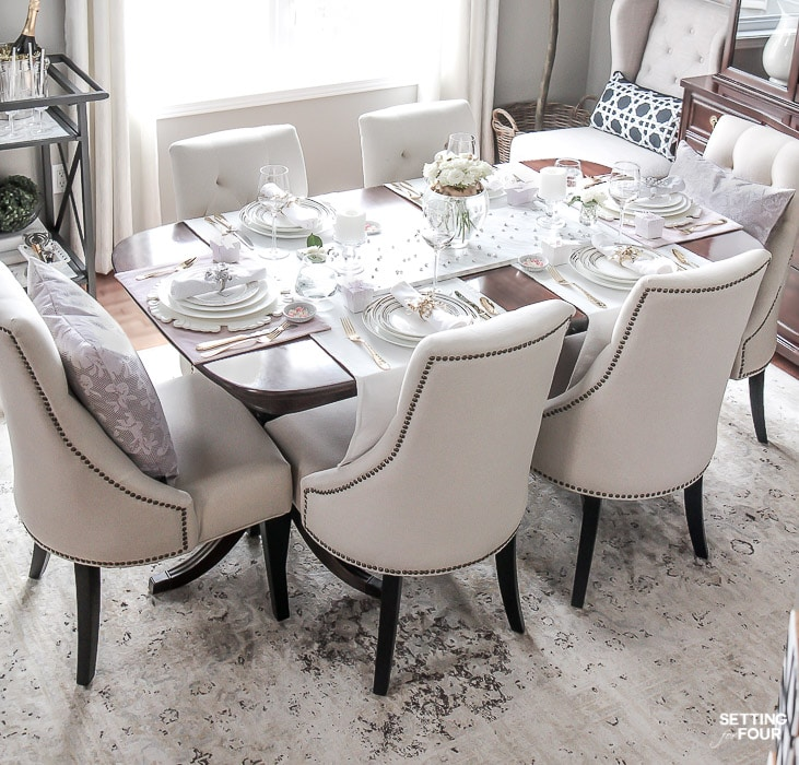 Blush Pink Valentines Day Dinner Party Ideas: To celebrate those you cherish!