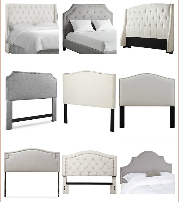 Wow! I'm loving these 35 Stylish and Affordable Headboards to turn your bedroom into a relaxing, dreamy oasis! I've rounded up the most gorgeous and inexpensive headboards in neutral colors to give you lots to choose from - turn a boring bedroom into the bedroom of your dreams!