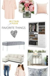 Favorite Things For The Home, Fashion & Beauty
