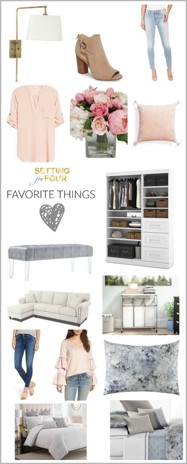 My Favorite Things: Online Home Decor, Fashion and Beauty Items to add some fun and fabulousness to our homes, closets and makeup bags!