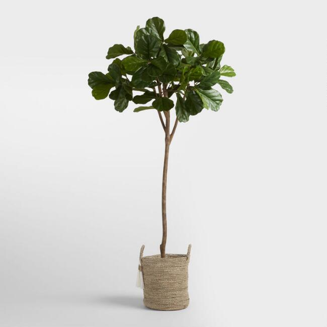 my favorite faux Fiddle Leaf Fig Tree