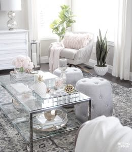 Blush Pink and Blue House Tour