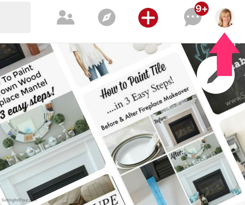 How to change your Pinterest profile description in your NEW Pinterest profile.