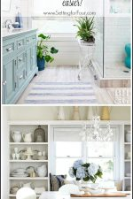 See the Home and Style Five - a collection of five amazing home decor and lifestyle ideas and tips that will help make your life a little easier and solve those pesky problems we all come across on a daily basis! Today I'm sharing the big ideas for your small entryway, how to style open shelves, how to attract hummingbirds to your yard and bathroom organization tips!