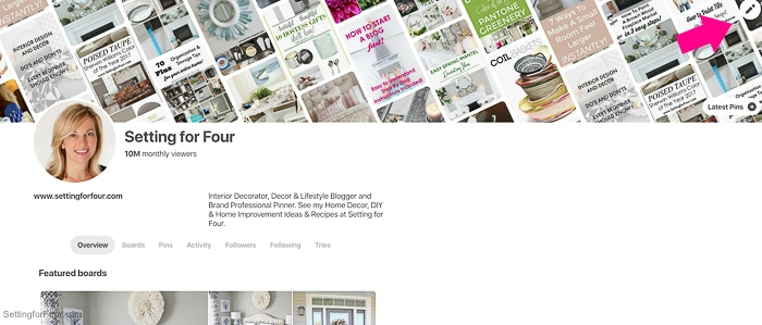 How to Customize your NEW Pinterest profile and profile cover banner.