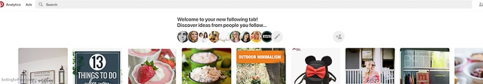 Your New Pinterest Profile and where to find your Pinterest followers.