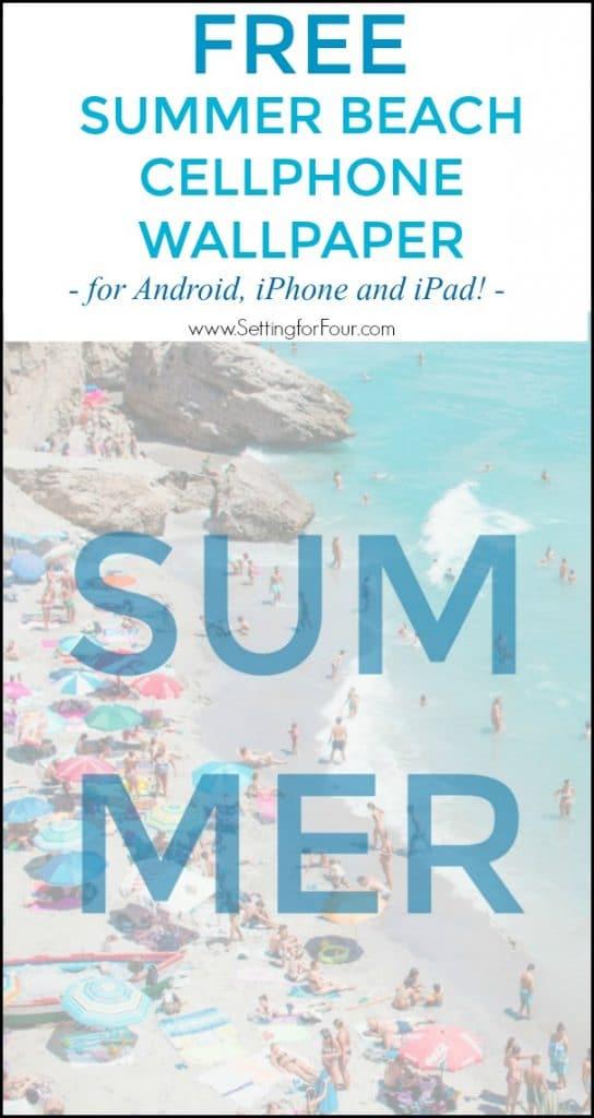 Get your Free Summer Beach Cellphone Wallpaper download. #free #cellphone #wallpaper #device #iPhone