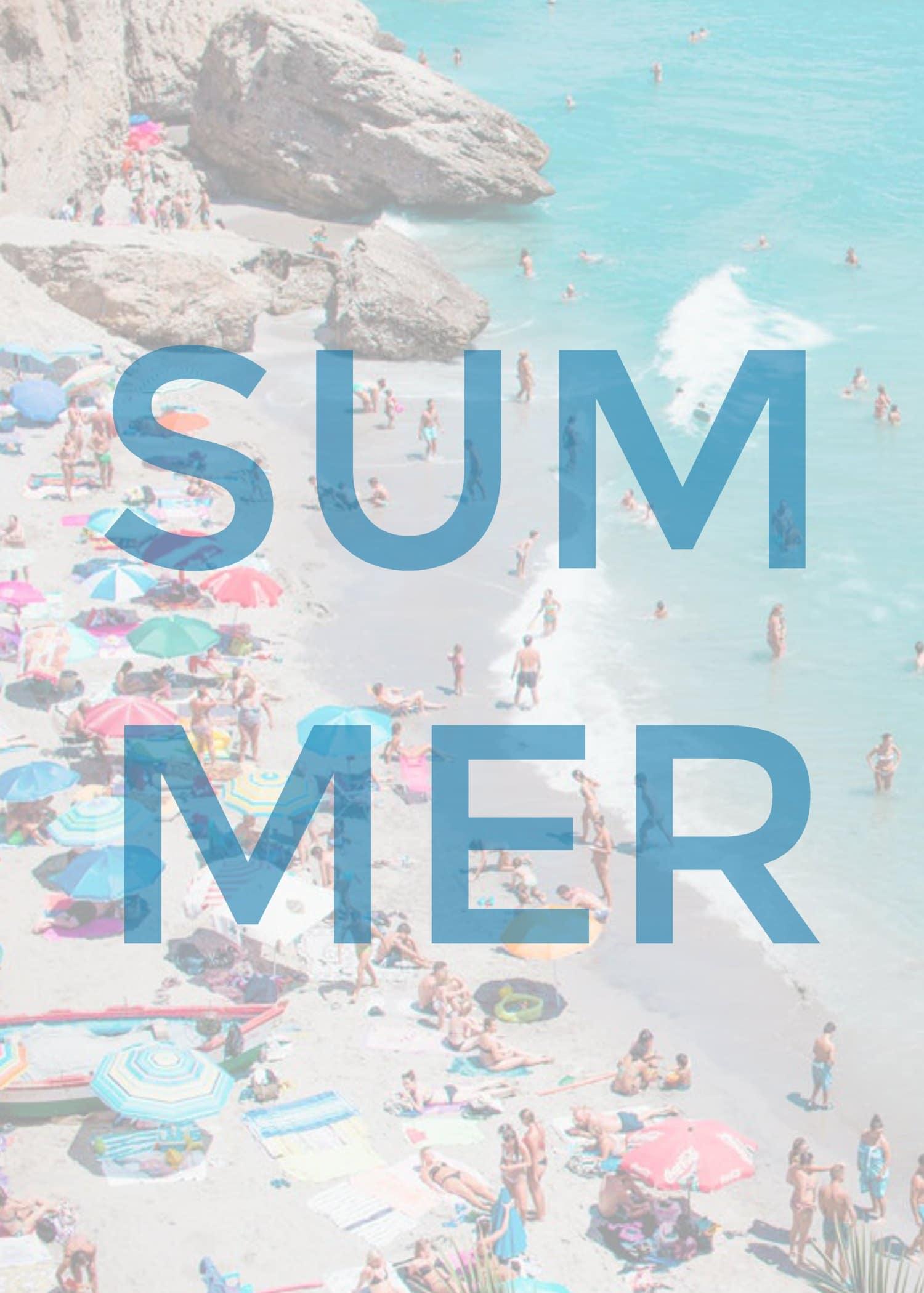 Free Summer Beach Phone Wallpaper Setting For Four